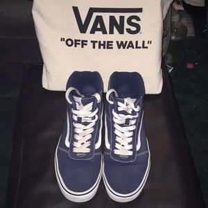 'Ward style vans high tops